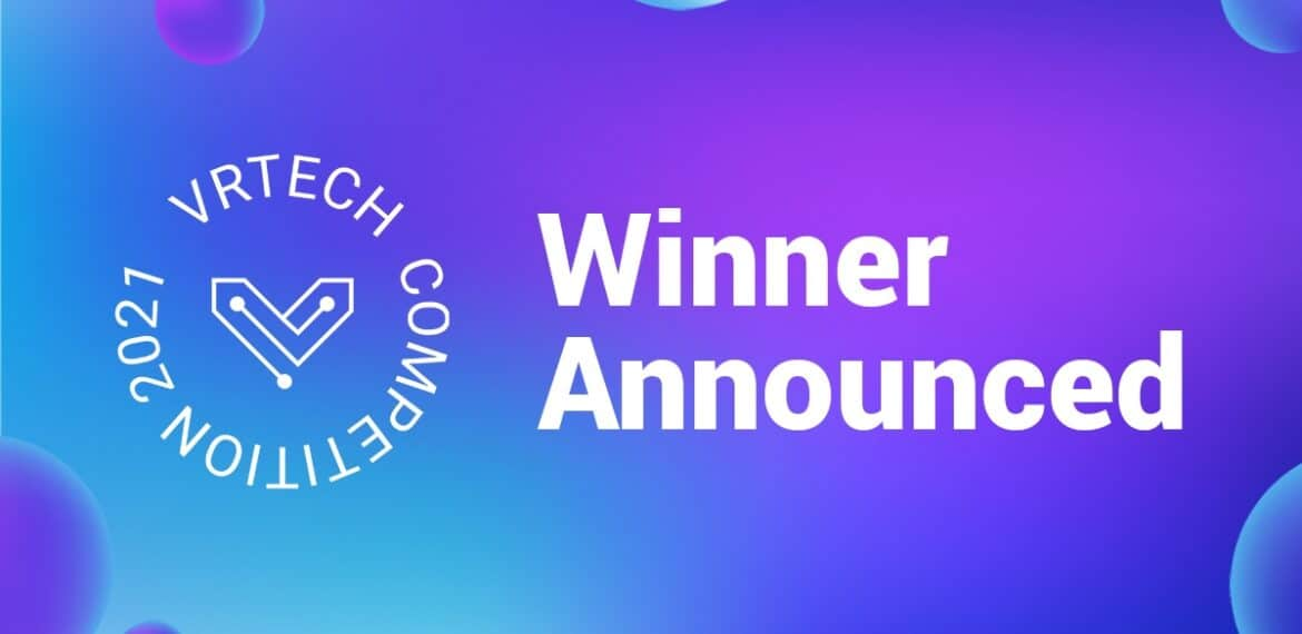 vrtech startup competition winner announced